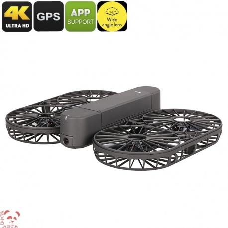 Дрон Simtoo Moment Airselfie, 4K UHD камера, складной, панорамная съёмка, до 15 мин полёт