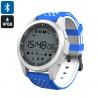 Умные часы для спорта NO.1 F3 с Bluetooth, шагомер, монитор сна (синие)