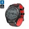 Умные часы для спорта NO.1 F3 с Bluetooth, шагомер, монитор сна (красные)
