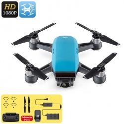 Дрон DJI Spark, 1080p камера, до 50км/ч, FPV, WiFi, управление жестами, аксессуары