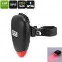 Задний фонарь для велосипеда с GPS трекером, 1IMEI, 3 режима подсветки, батарея 3200мАч