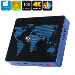 Мини ПК Beelink S1 8Гб/64Гб, Intel Apollo Lake N3450, Windows 10, 128Гб SD слот, dual Wi-Fi, 1000M RJ-45