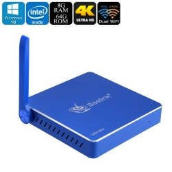 Мини ПК Beelink AP34 8Гб/64Гб, Intel Apollo 3450, Windows 10, 128Гб SD слот, dual Wi-Fi, 1000M