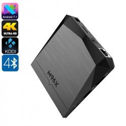ТВ-приставка M96X Андроид 7.1, 4K ТВ, Miracast, 1Гб, Kodi V17.1