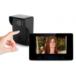 Видеодомофон с 7' цветным монитором, ночной режим