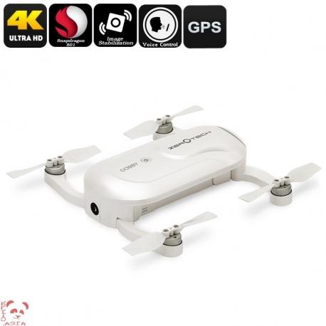 Дрон для селфи Zerotech DOBBY складной, камера 13Мп 4К, вес 195г, управление жестами и голосом