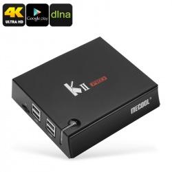 ТВ-приставка MECOOL KII Pro, dual Wi-Fi, DVB-T2, DVB-S2, 2Гб/16Гб