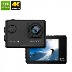 Экстремальная видеокамера MgCool Explorer 2C, 170гр объектив, 4К видео, Sony IMX078 сенсор (чёрный)