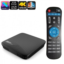 ТВ-приставка Mecool M8S Pro L Андроид 7.1, 3Gb/32Gb, Dual-Band Wi-Fi, DLNA, Airplay, Miracast