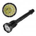 Светодиодный фонарь 15 светодиодов CREE XM-L T6, яркость 18000лм