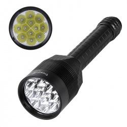 Светодиодный фонарь 12 светодиодов CREE XM-L T6, яркость 13000лм