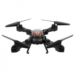 Мини дрон Florld F12-W камера 2Мп камера, FPV, App, Wi-Fi, 99г (оранжевый)
