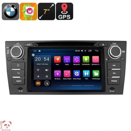 Медиацентр 1Din на BMW 3 серии E90-E93, экран 7', Андроид, GPS, Bluetooth